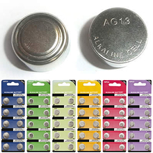 2016 10Pcs/Set AG1 – AG13 1.5V Alkaline Button Coin Cells Watch Battery Batteries 10 Types