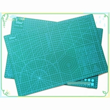 PVC Cutting Mat a3 45*30cm 9 Sea Durable Self Healing Handmade DIY Quilting Accessories Flexible Green Patchwork Board Plotter(China (Mainland))