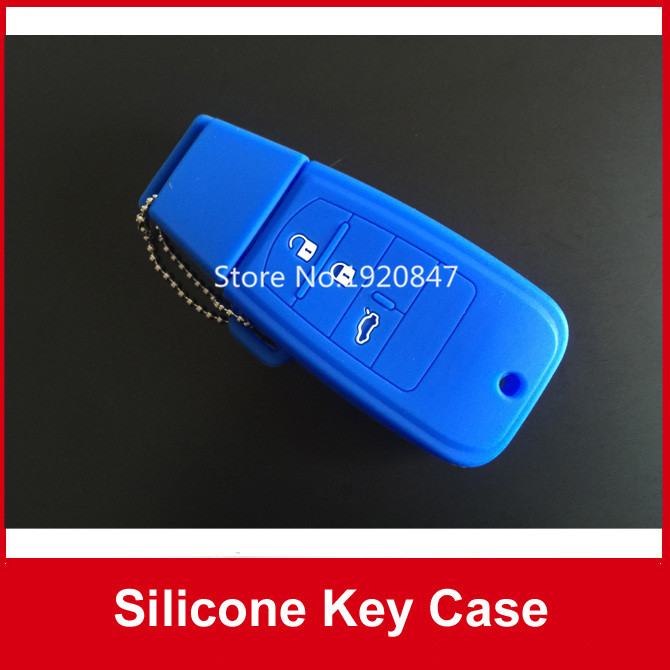 Car styling Silicone Car Key Cover Case For Fiat Ottimo Viaggio Car Key Remote Fob Free Shipping(China (Mainland))