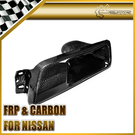 Car Styling For Nissan Skyline R32 GTR GTS Carbon Fiber Vented Headlight Replacement (LHS)(China (Mainland))