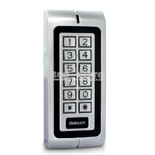 Waterproof RFID 125KHz Access Controller Reader Keypad With Metal Case High-performance W1(China (Mainland))