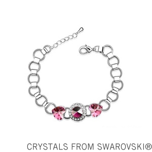2015 gift for girlfriend! Fashion crystal bracelet Made with SWAROVSKI ELEMENTS(China (Mainland))