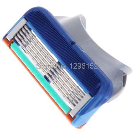 Отличное качество! бренда для бритья лезвия для мужчин уходу за лицом 5-blades брить 4 шт./лот