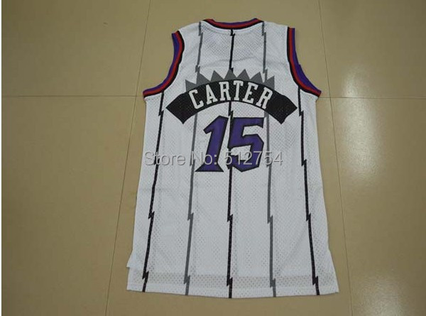 #15 Vince Carter Jersey,Rev 30 Throwback Basketball Jersey,Best quality,Authentic Jersey,Size S--XXXL,Accept Mix Order(China (Mainland))