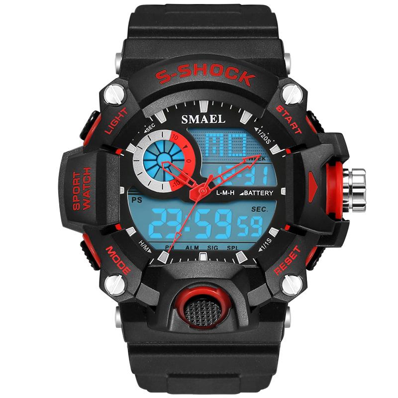relogio digital Sports Watches Men Digital Watches 50M Waterproof Multifunction Climbing Dive LCD men's Wristwatch digital-watch(China (Mainland))