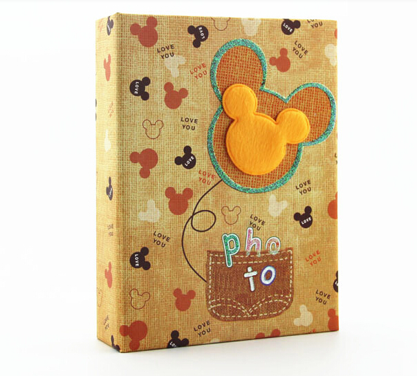 7 Inch 100 pcs Type photo albums Baby Child Family Couples Friends Good Time Memory Page Albumes de fotos photo recorder(China (Mainland))