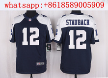 Men's free shiping A+++ quality Dallas Cowboys #12 Roger Staubach Limited Navy Blue Throwback Alternate,camouflage(China (Mainland))