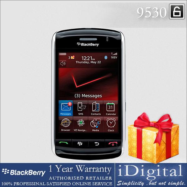 "100% Original Blackberry 9530 Mobile Phone 3.25"" TFT Touchscreen 3.2MP Camera 3G Unlocked Factory Refurbished(China (Mainland))"