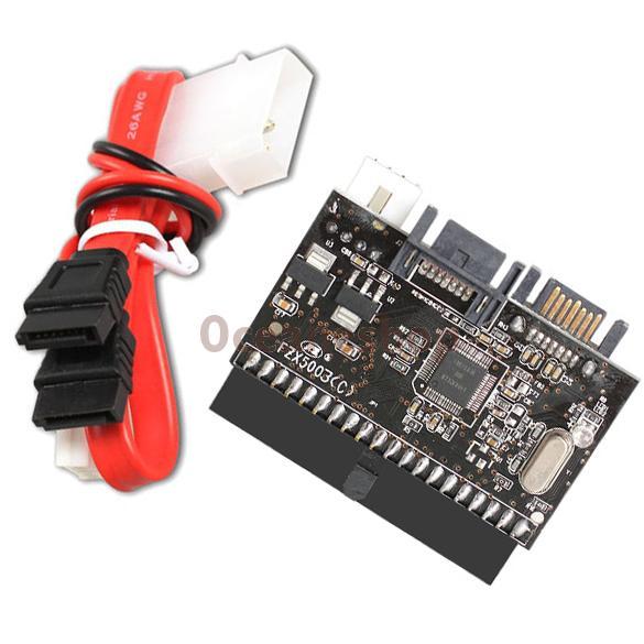 2 in 1 IDE to SATA SATA to IDE Converter Adapter ATA 100 133(China (Mainland))