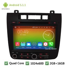 Quad Core DAB+ WIFI Android 5.1.1 2Din 8″ 1024*600 Car DVD Player Radio Audio Stereo Screen For Volkswagen VW TOUAREG 2011-2016