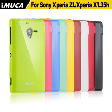 Buy sony Xperia ZL case soft tpu cover Sony Xperia ZL L35h C6503 C6502 C6506 imuca case mobile phone bag retail package for $5.15 in AliExpress store