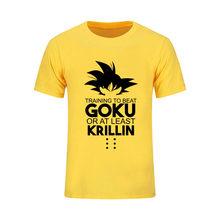 Мужская 3D футболка Dragon Ball Z Ultra Instinct Goku Super Saiyan God Blue Vegeta с принтом alan walker, летняя футболка с рисунком 4XL(China)
