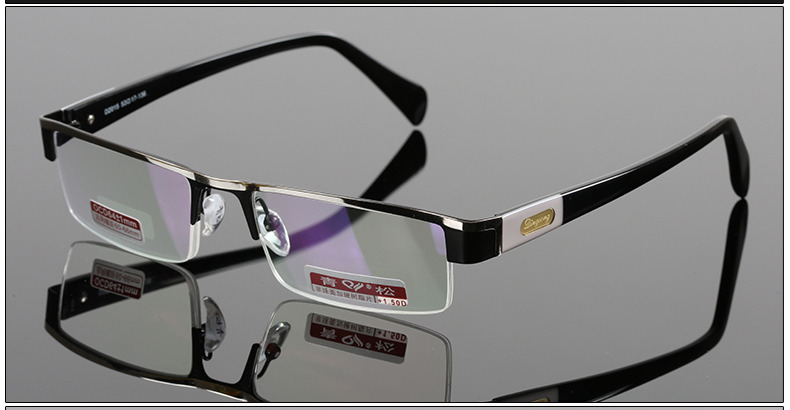 100% GENUINE=OVER 1000 ORDERS WORLD MOST POPULAR=Titanium alloy Non spherical reading glasses+1.0 +1.5 +2.0 +2.5 +3.0 +3.5+4.0(China (Mainland))