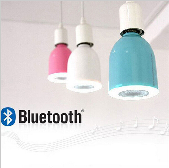 Hot sale LED light bulbs shape Wireless Bluetooth Speaker With RF Remote Control,hifi LED lamp speaker LED light loudspeakers<br><br>Aliexpress