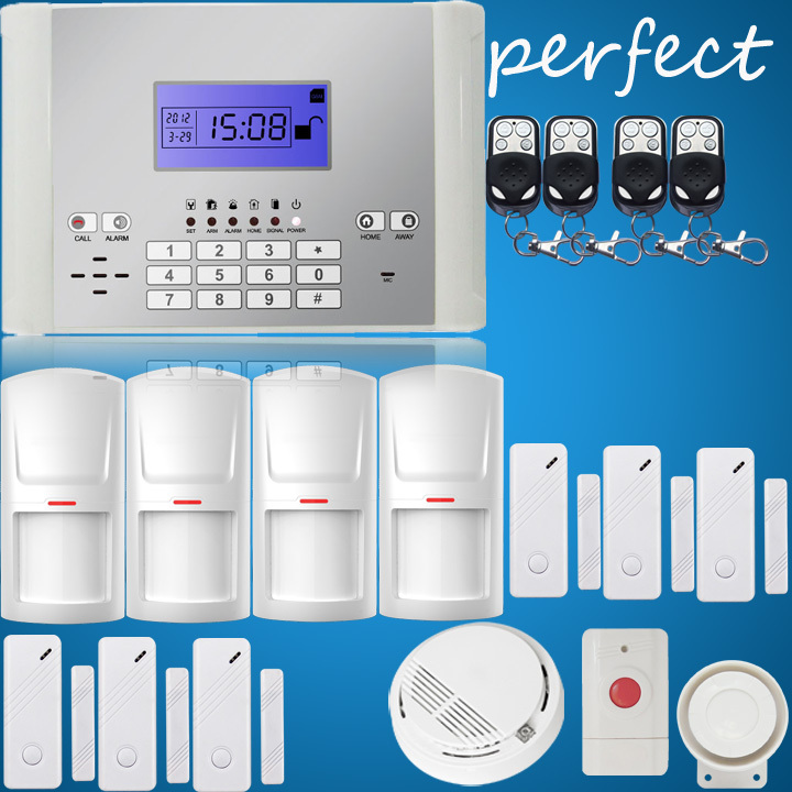 Free Shipping GSM Alarm,Wireless &amp; wired Smart Home Alarm System, Remote keypad, Auto Dial Security Alarm System<br><br>Aliexpress