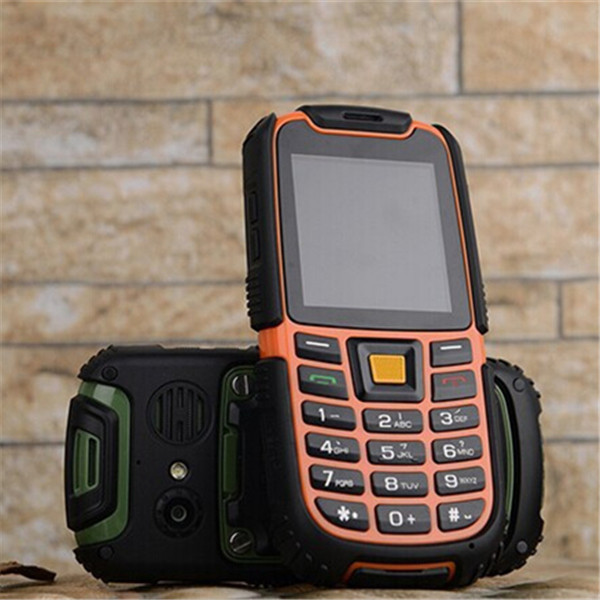 Original Military phone S6 IP67 Waterproof Shockproof Dustproof Mobile Phone Long Standby 2500mAh GSM Dual Sim Free Shipping(China (Mainland))