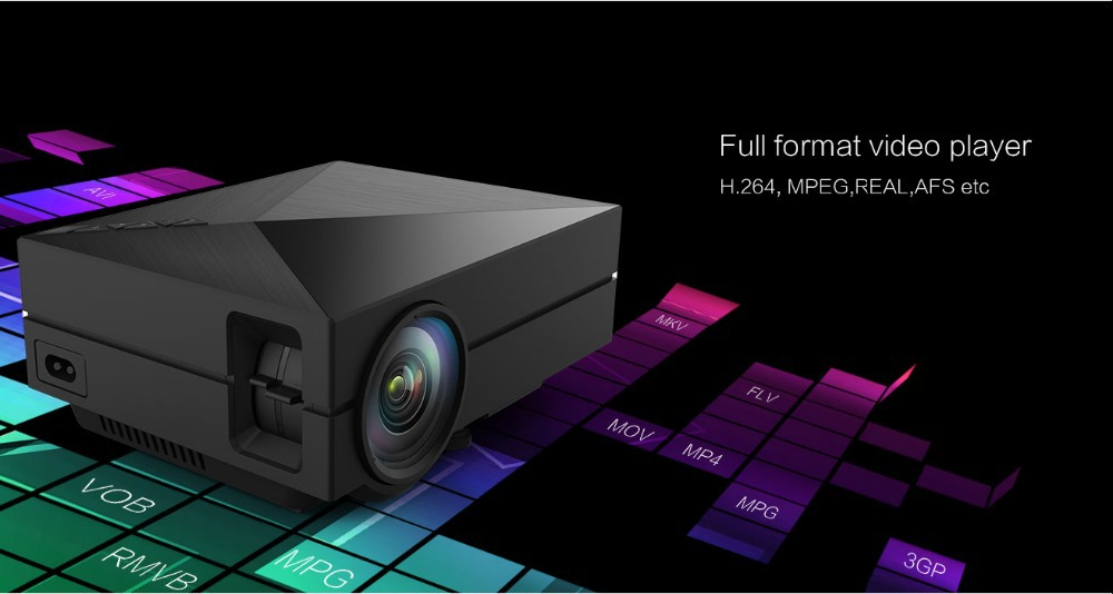 2015 mini 1080p multimedia gm60 led projector home theater for Best mini projector 2015