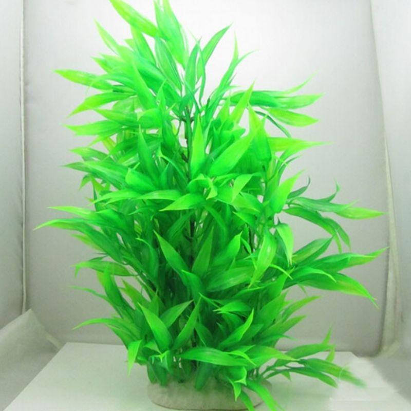 Искусственные растения для аквариума сделать