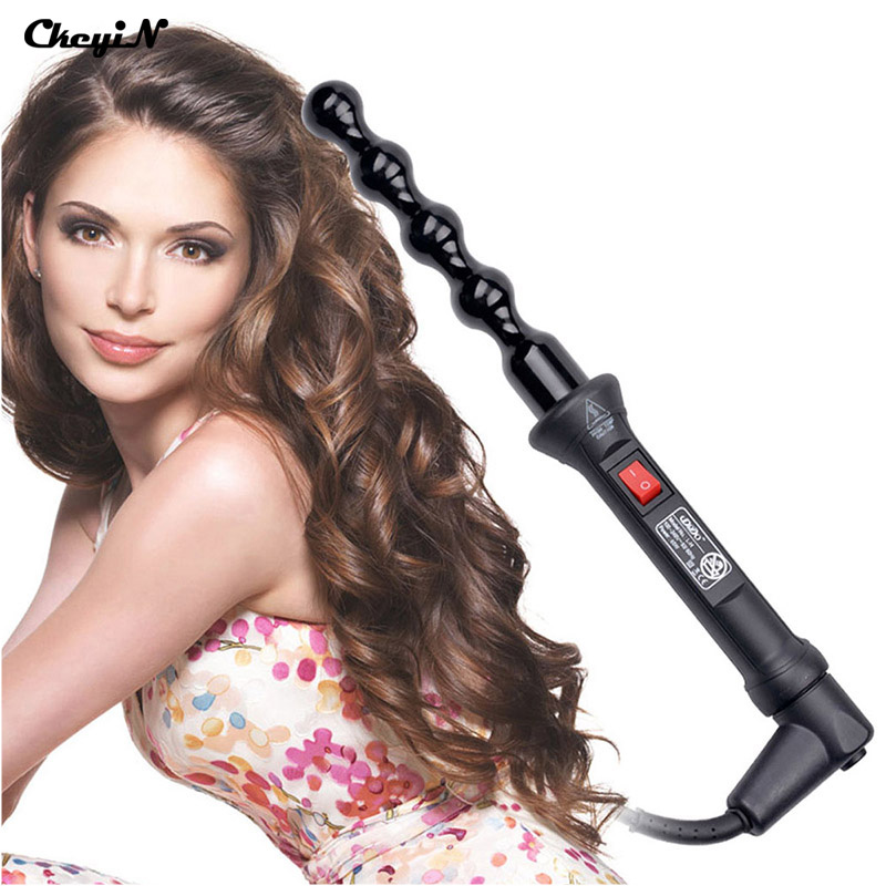 Electric Ceramic Hair Curler Spiral Hair Rollers Curling