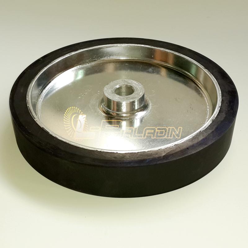 Rubber Contact Wheel Belt Grinder
