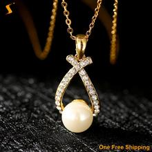 Maxi Necklace Women 2016 Rhinestone Necklaces & Pendants Collares Collier Nickle Free Antiallergic 18k Real Plated New Fashion (China (Mainland))