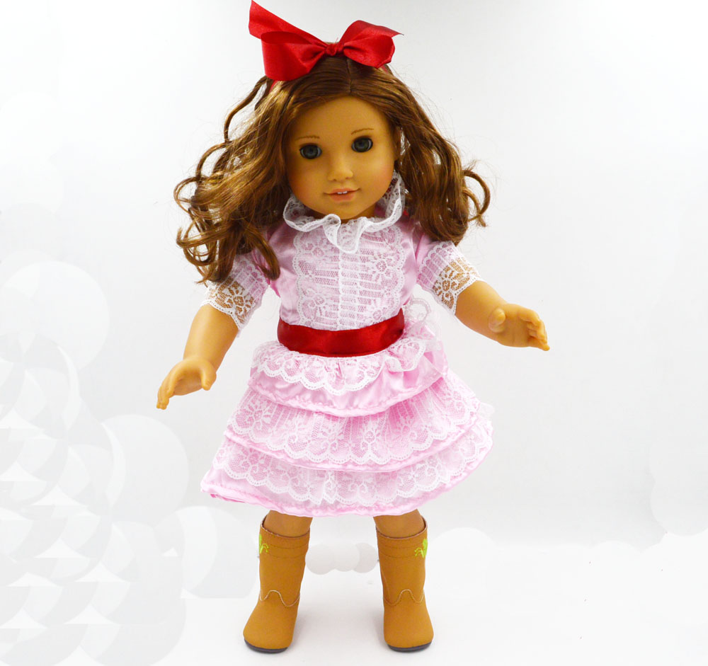 new style popular 18 american girl doll clothes hot sale baby best gift dolls accessories dress. Black Bedroom Furniture Sets. Home Design Ideas