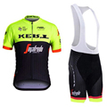 New Team Cycling jerseys 2017 Jersey Sets Short sleeves Summer Breathable Cycling Clothing Pro MTB bike