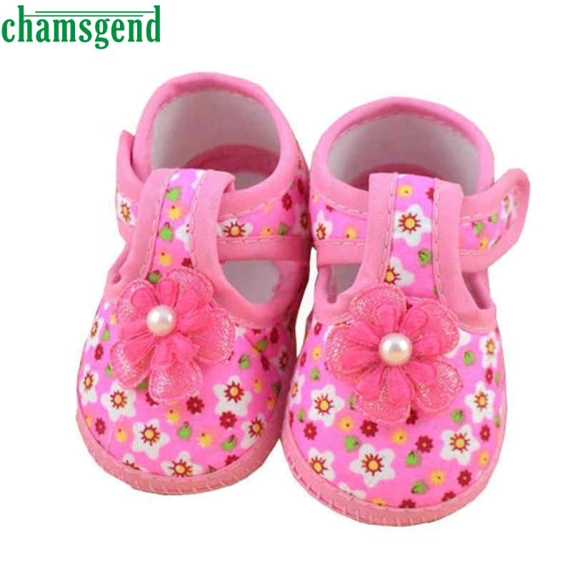 CHAMSGEND baby shoes Baby Flower Boots Soft Crib Shoes for girls children footwear baby girl shoes Best seller drop ship S25(China (Mainland))