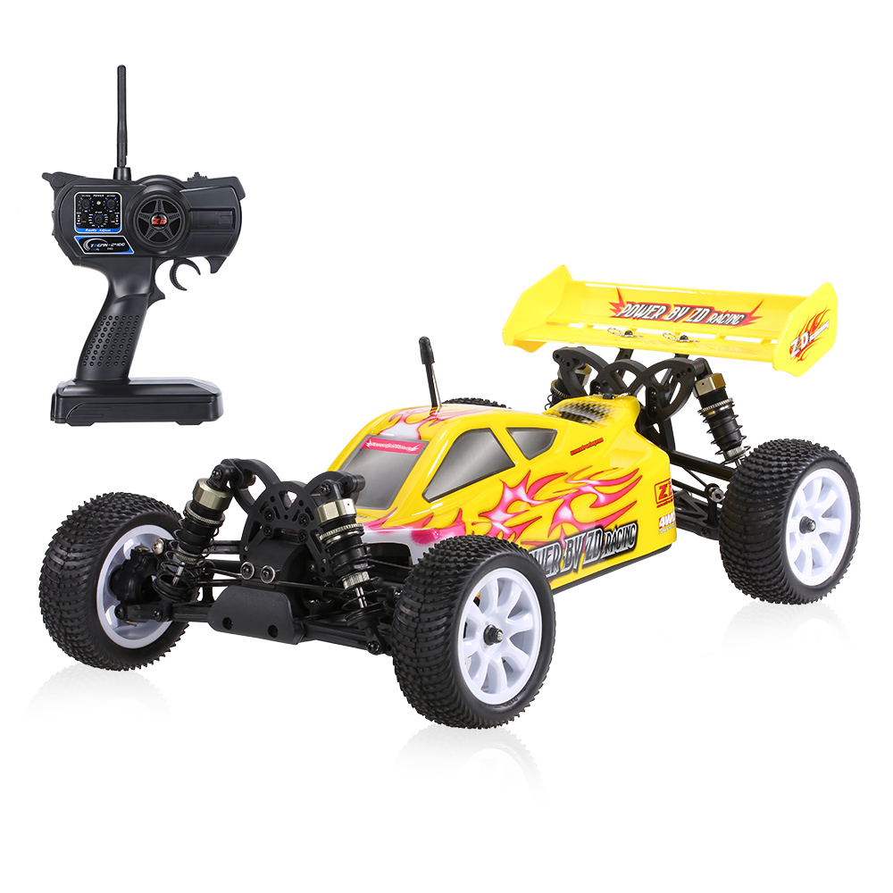 Original ZD Racing NO.9101 Thunder B-10E 2.4GHz 4WD 1/10 Scale RTR Brushed Electric Off-Road Buggy RC Car with T3GMN-2400 Radio(China (Mainland))