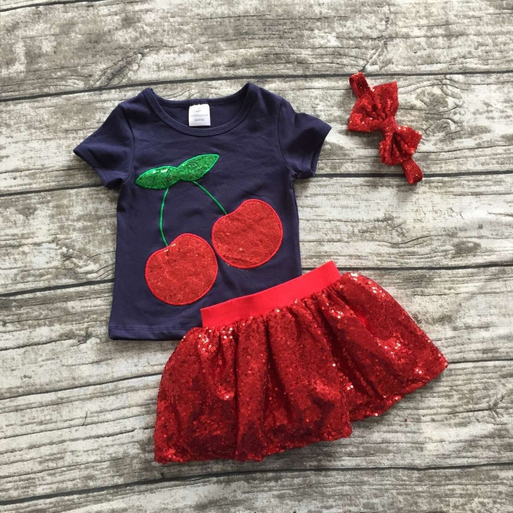 Red sequin Summer clothes for teen boys pictures