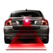 Newest Motorcycle Anti Collision Rear-end Car Laser Tail Fog Light Auto Brake Parking Lamp Rearing Warning Light fot kia lada(China (Mainland))