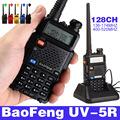 HOT Portable Radio Walkie Talkie UV 5R Baofeng for CB radio vhf uhf dual band 136