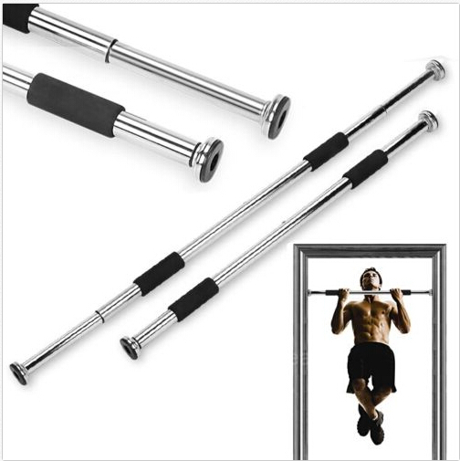 Multi purpose indoor gym pull up chin ups door bar frame for Door frame pull up bar
