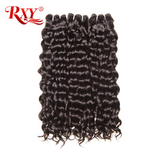 Buy RXY Brazilian Water Wave Hair Weave Bundles 1pc 100% Human Hair Weaving Remy Hair Bundles Natural Color for $18.89 in AliExpress store