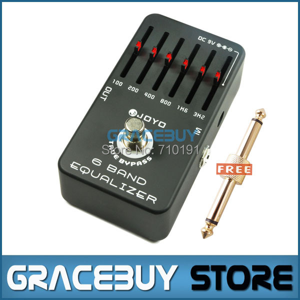 JOYO JF-11 6 Bands Equalizer Pro Guitar AMP Effect Pedal True Bypass , Electric Bass Dynamic Compres