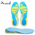 Soumit Elastic Silicone Velvet Anti slip Sports Insole Shock Absorption Shoe Pads Velvet Moisture Wicking Insoles