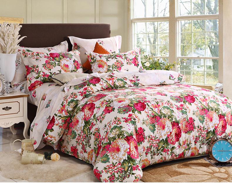 king queen size floral bedding set bedroom comforter sets in bedding