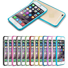 Ultra Thin Aluminum Metal Bumper Case Cover For Apple iPhone 6 4.7″ inch Mobile Phone Frame Case