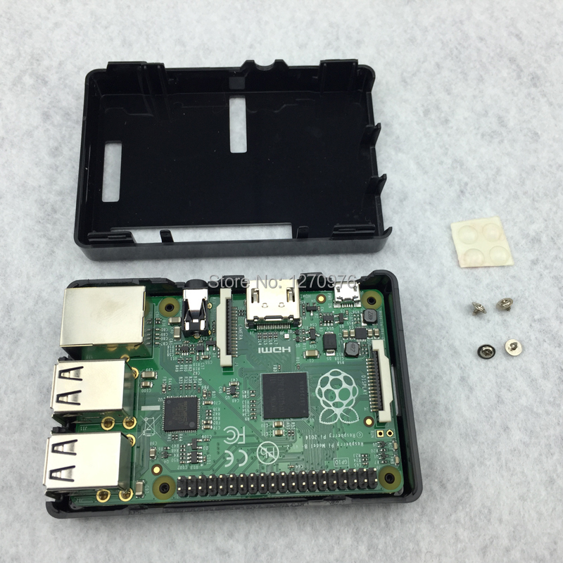 raspberry pi 2 case ABS plastic case compatible for raspberry pi b board free shipping