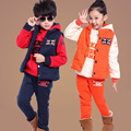 Three pieces sets of children unisex clothes for 3 13 year kids boys girls brand winter
