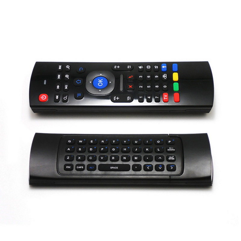 10pieces, 2.4Ghz Wireless Mini MX3 Keyboard With IR Learning Mode +Voice Micphone Air Mouse Remote Control For PC TV Box(China (Mainland))
