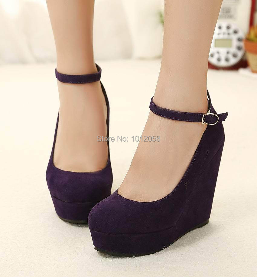 cheap black closed toe wedge shoes ankle
