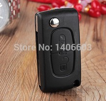 Buy No Battery Clip Flip Key Shell fit for CITROEN C2 C3 C4 C5 C6 C8 Remote Case Fob 2 Buttons Blank Cover Uncut blade CE0523 for $3.89 in AliExpress store
