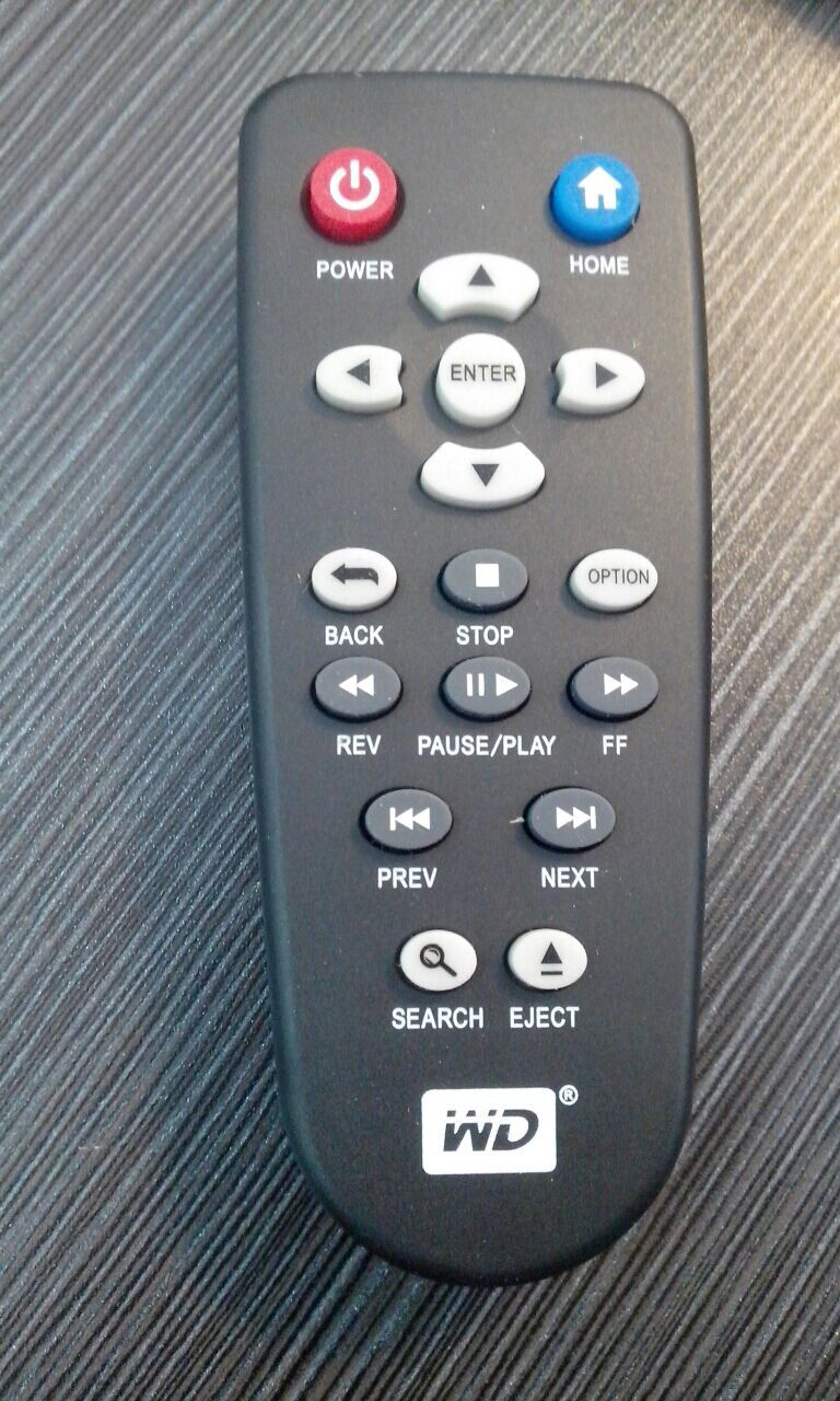 WD TV Live OEM Replacement Remote Control Unit For All Versions Plus Hub Steaming 1st 2nd 3rd 4th Gen(China (Mainland))