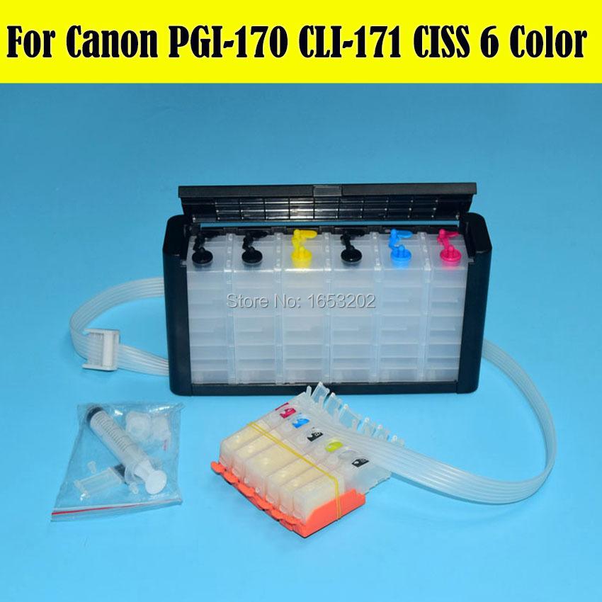 Canon 170 171 PGI-170 CLI-171 Ciss System 3.