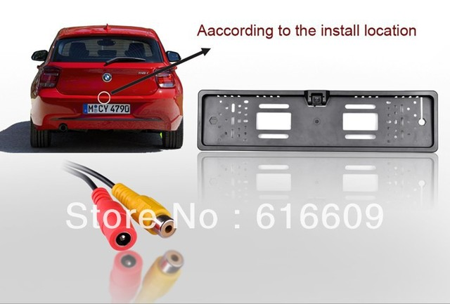 high quality  EU car license plate camera with led light ,Night vision EU car license camera ,new style car number plate camera