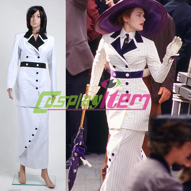 Customized Adult Titanic movie cosplay Rose dress Rose cosplay costumeОдежда и ак�е��уары<br><br><br>Aliexpress