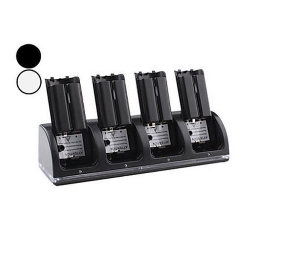 4 in 1 battery set for wii for wiiu rechargeable battery for wii battery and charger(China (Mainland))