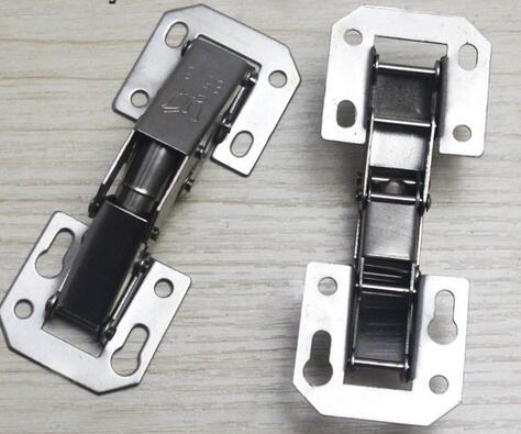 Kitchen Cabinet 90 Degree Hinges 2 Pair CHB405GA Concealed Cupboard Door Hinge Furniture Hardware Accessories Fittings(China (Mainland))