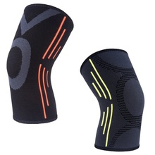 Breathable warmth  Basketball Football sports safety Kneepad volleyball Knee Pads Training Elastic Knee Support knee protect(China (Mainland))